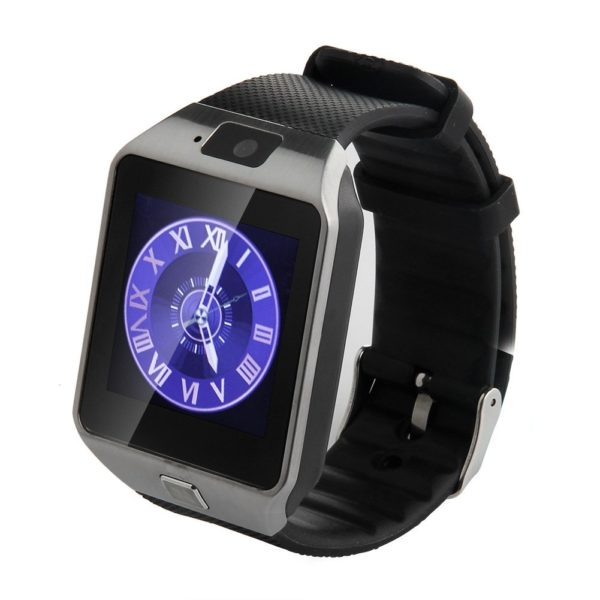 dz09-silver-smartwatch
