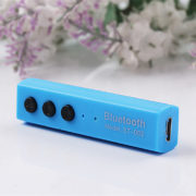 Wireless Bluetooth Headphone Bluetooth Stereo Sport Handsfree Earphone Earbud with Microphone blue 1