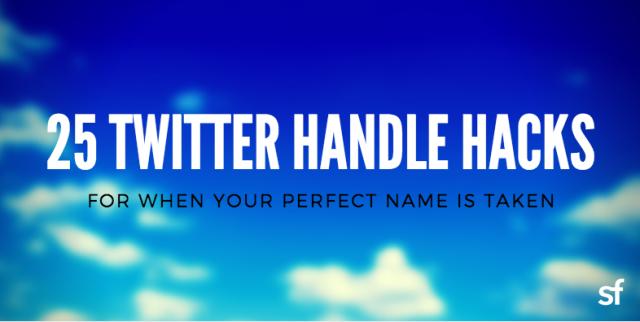 25-twitter-handle-hacks