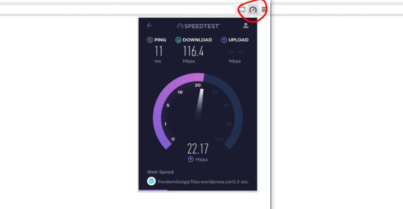 quıckest way to test your internet