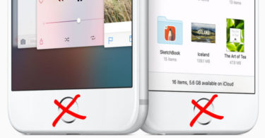Apple to Kill iPhone Home Button in 2017
