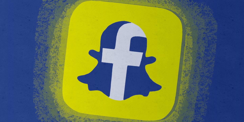 snapchat facebook