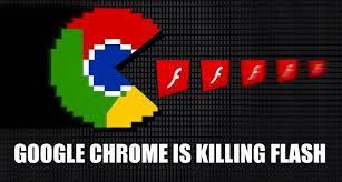 Google Chrome is helping kill Flash