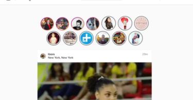 Instagram Stories on Web Browser with Chrome