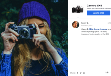 Instagram and eCommerce has the most clicking