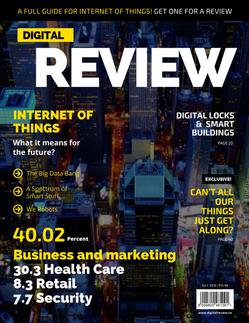 Internet of things - A full review with definition, applications and examples