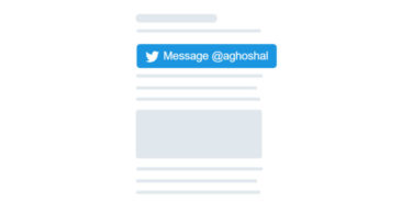 New Twitter DM Button To Help You Chat With Any Site