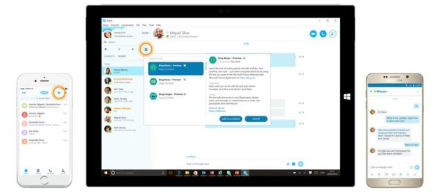 New version of Skype is announced to be with automated chat assistants