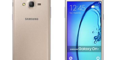 Samsung Galaxy On7 leaked