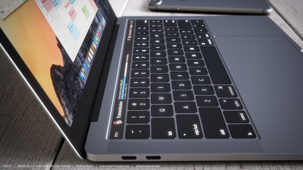 You could be unlocking your new MacBook Pro with your fingerprint1
