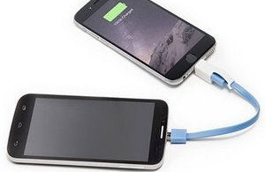 charge your smartphone using of friends smartphone
