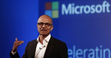 Microsoft Chief Executive Officer (CEO) Satya Nadella addresses the media during an event in New Delhi September 30, 2014. REUTERS/Adnan Abidi (INDIA - Tags: BUSINESS SCIENCE TECHNOLOGY)