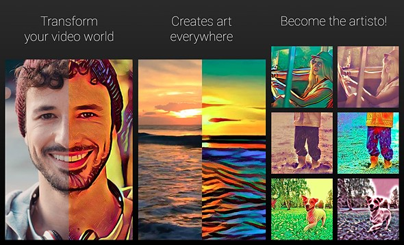 Prisma Transforms Your Photos-Artisto Do It with Video
